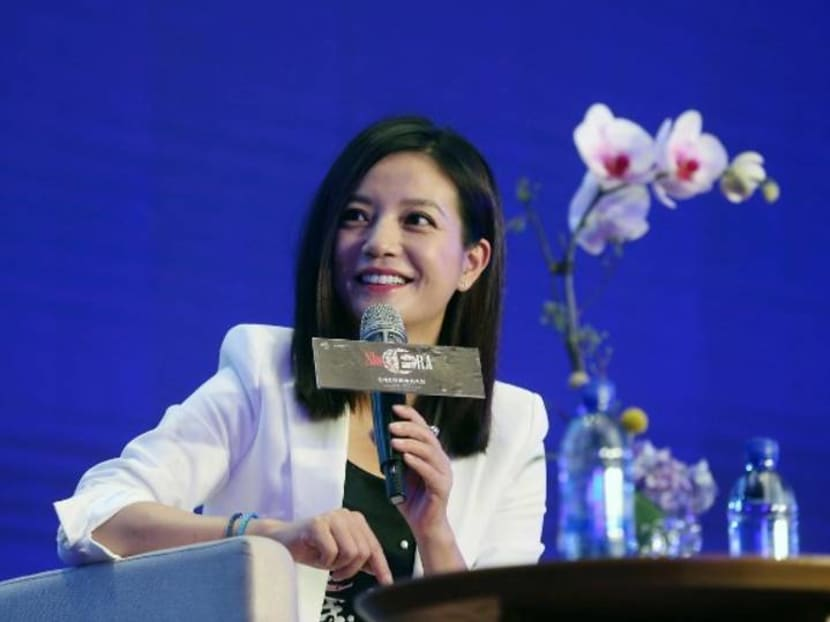 One of China's biggest actresses Zhao Wei has been removed from the Chinese Internet