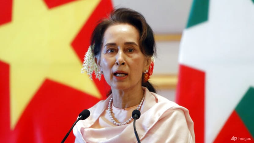Myanmar's Aung San Suu Kyi back in court after health no-show