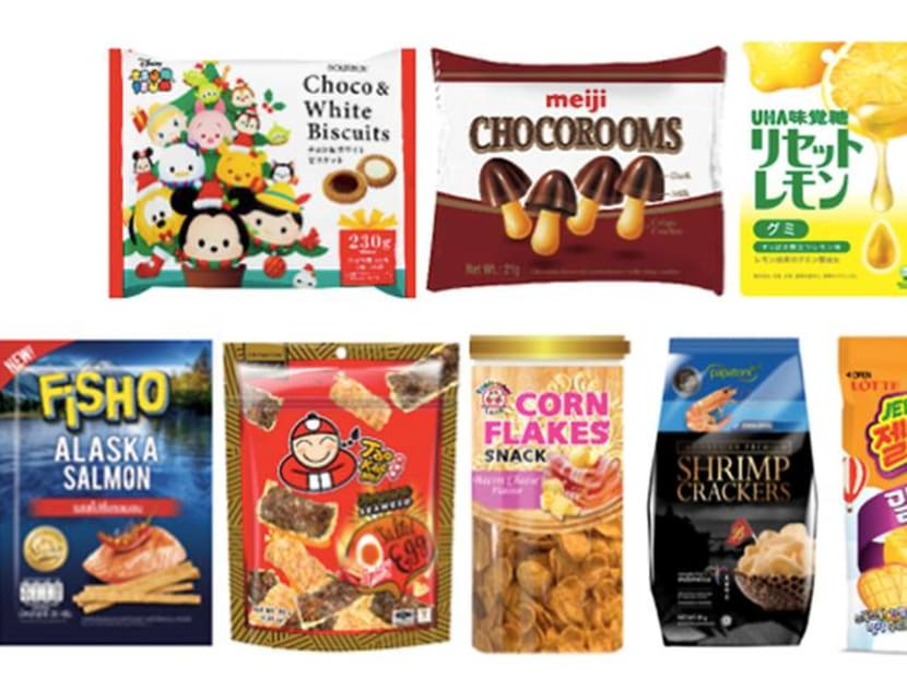 Stock up on snacks: Titbits Carnival offers more than 1,500 items