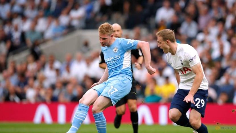 Football: Kane absent but Son scores Tottenham winner to stun Man City