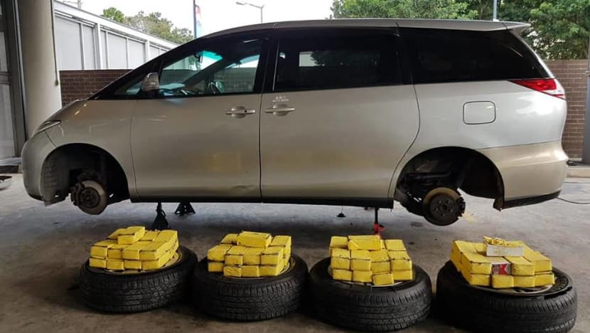 More than 1,000 packets of contraband cigarettes found in car tyres at Woodlands Checkpoint