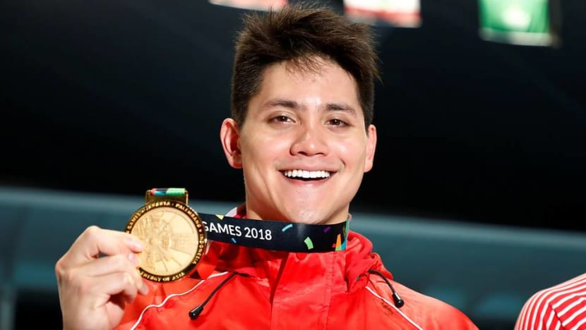 Asian Games: Schooling wins Singapore's first gold medal after retaining 100m fly crown