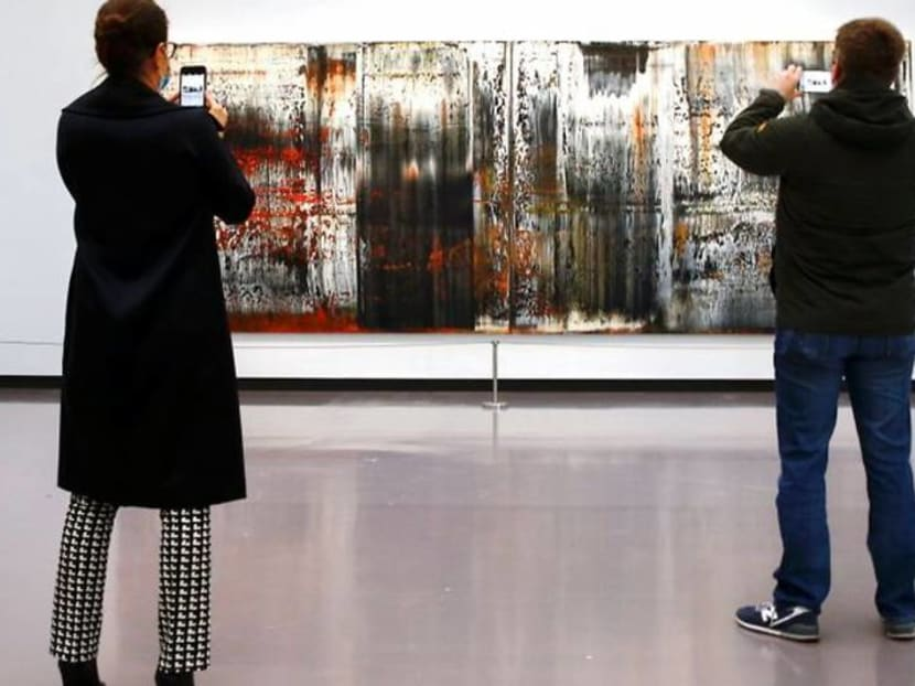 Richter exhibition offers to transport homebound Swiss to new landscapes