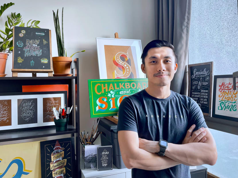 Creative Capital: The IT executive who is a sought-after chalk lettering artist