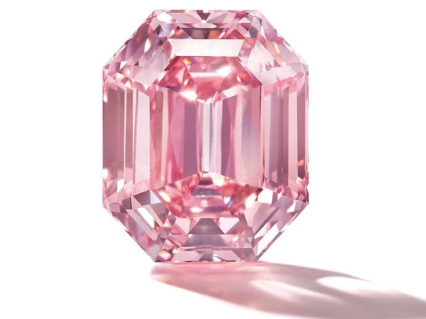 A pink diamond for S$69 million? Here's why the stone is so valuable