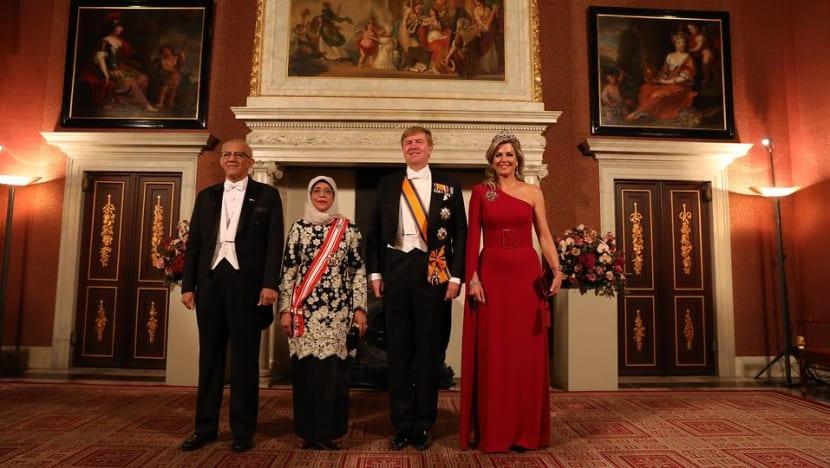 Singapore, Netherlands share 'common commitment' to multilateralism: President Halimah Yacob