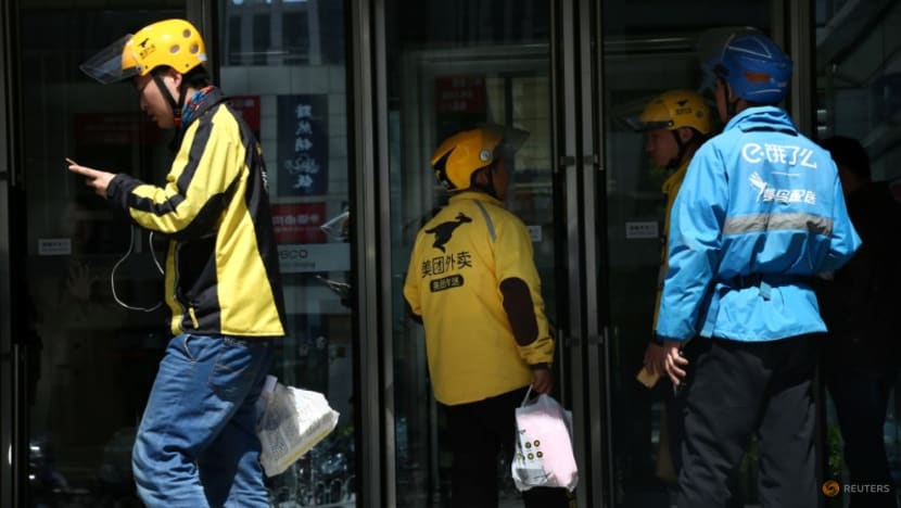 Chinese regulators meet with delivery firms, call for stronger labour rights