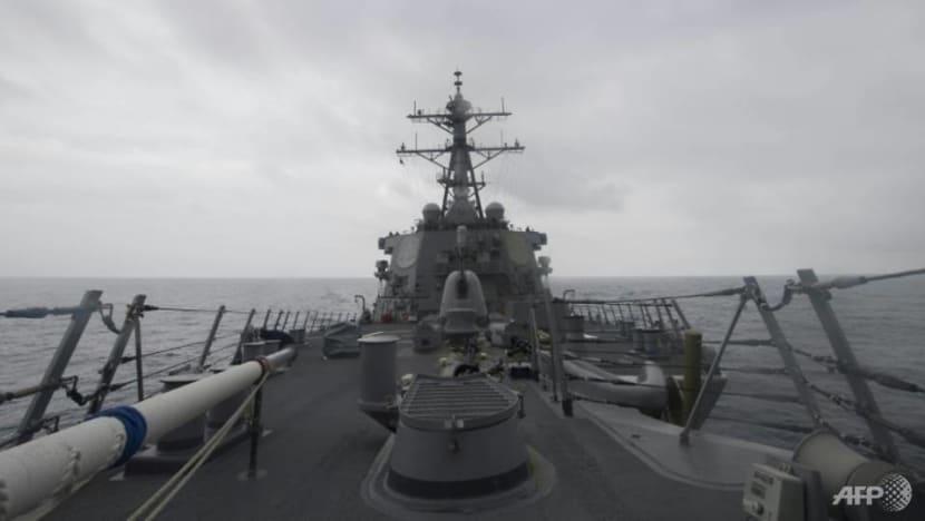 US warships transit Taiwan Strait, China denounces 'provocation'