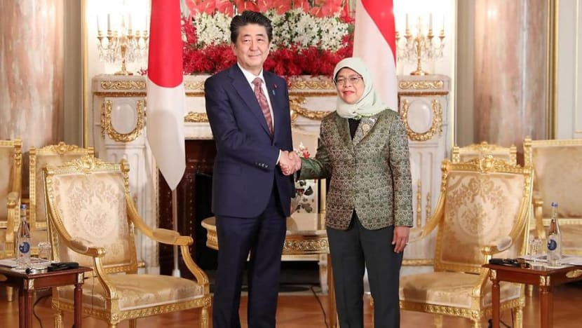 President Halimah looking forward to working with Japan's Emperor Naruhito to further strengthen ties