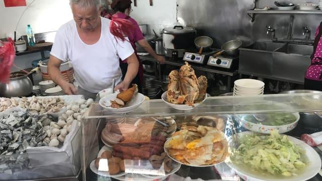 对台南人来说 享用美食是一件很私人的事