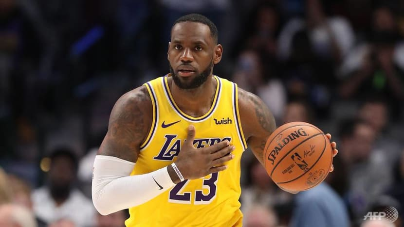 Basketball: LeBron sparks Lakers in NBA comeback triumph at Chicago