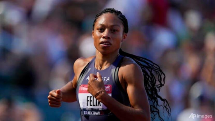 Golden girl Allyson Felix readies for Olympic swansong