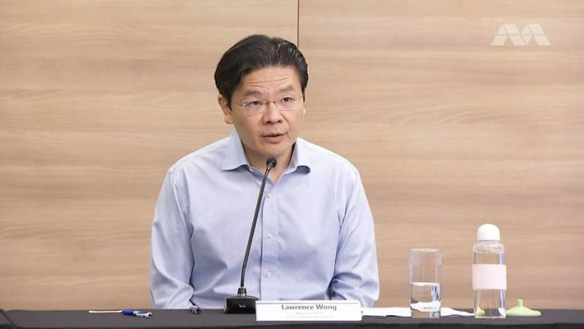 Effects of tightened COVID-19 measures will only be seen in 1 or 2 weeks due to 'time lag': Lawrence Wong