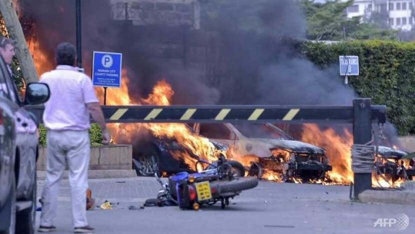 Six dead in attack on upmarket Nairobi hotel complex