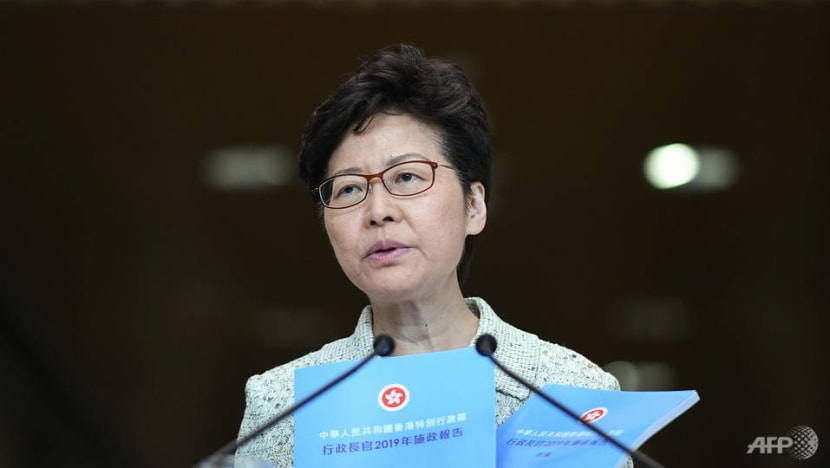 Hong Kong leader's policy speech to focus on housing in bid to regain support