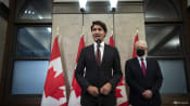 Canadian PM Trudeau says 2 detained citizens have left China