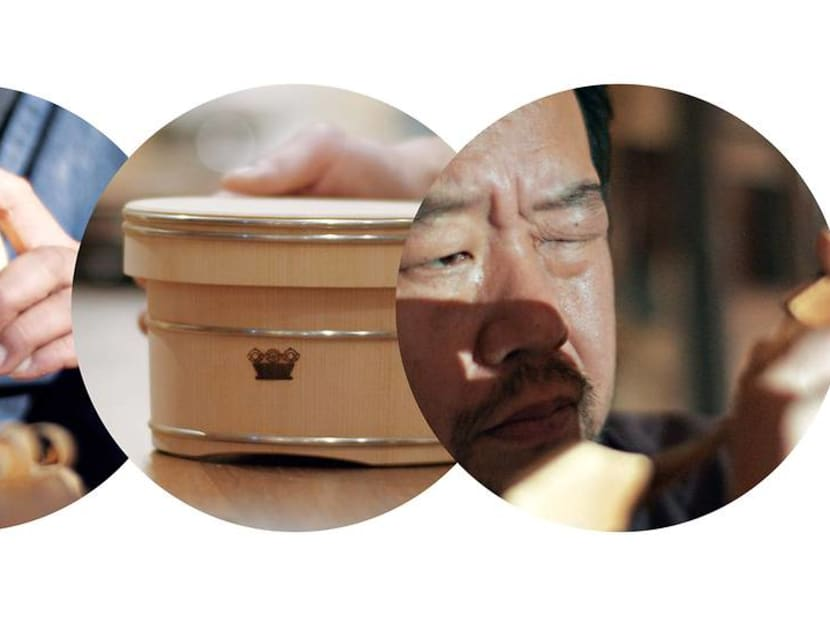 From rice bucket to champagne cooler: Updating an age-old Japanese craft