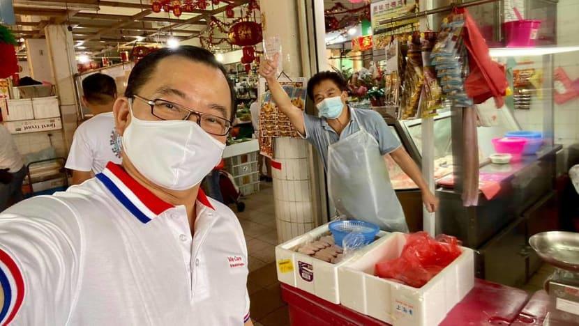MP Seah Kian Peng explains visit to market after Facebook post on 'playing role of safe distancing ambassador'