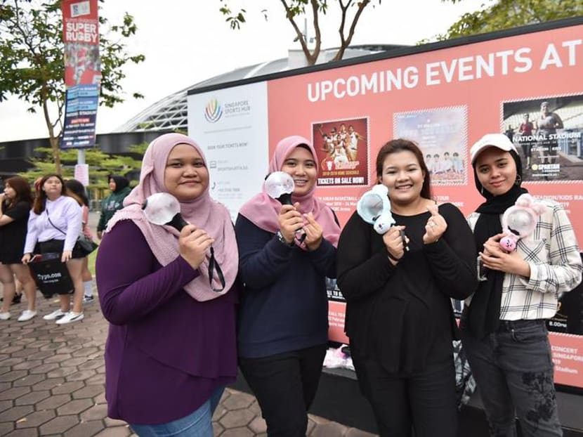'We cannot wait for tomorrow': BTS fans gather on eve of K-pop group's Love Yourself concert