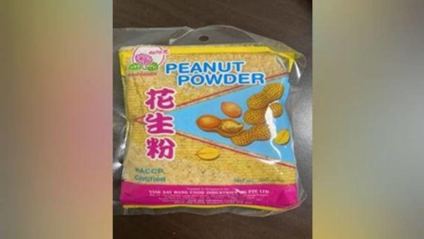 Peanut powder recalled due to excessive levels of aflatoxins: SFA
