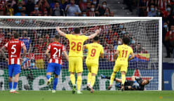 Salah double helps Liverpool beat Atletico 3-2 as Griezmann sees red