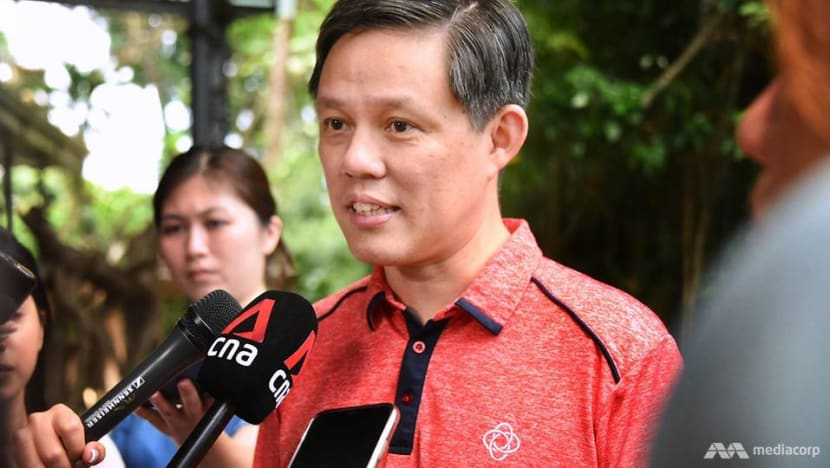 Release of EBRC report 'not correlated' with when elections will be called: Chan Chun Sing
