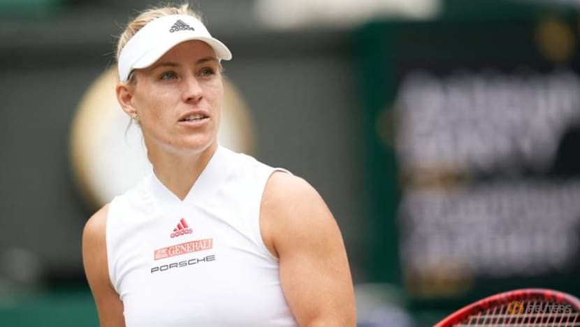 Olympics-Germany's Kerber pulls out of tennis event at Tokyo Games