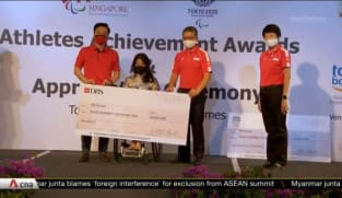 Para-athletes cash incentive scheme doubled, Yip Pin Xiu gets S$800,000 for two gold medals at Tokyo Paralympics | Video