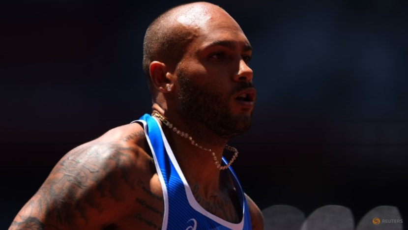 Olympics-Athletics-Italian sprinter Jacobs says no contact with former nutritionist