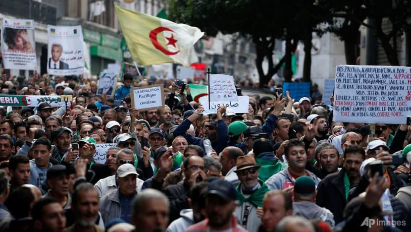 Algerians protest against new president but some say it's time for dialogue