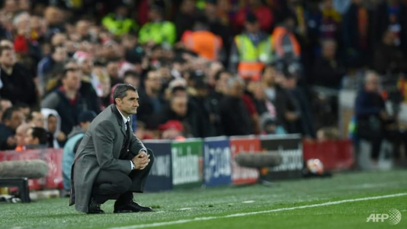 Losing to Liverpool, Barcelona and Valverde repeat mistakes in Roma shock last season
