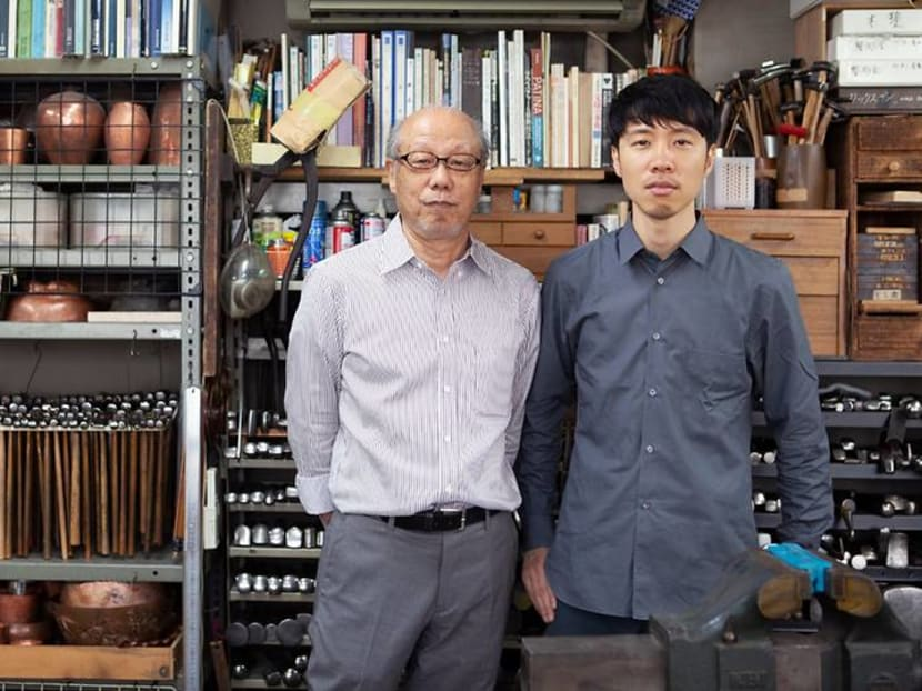 The Japanese artist reinventing the family metalsmith trade he once hated