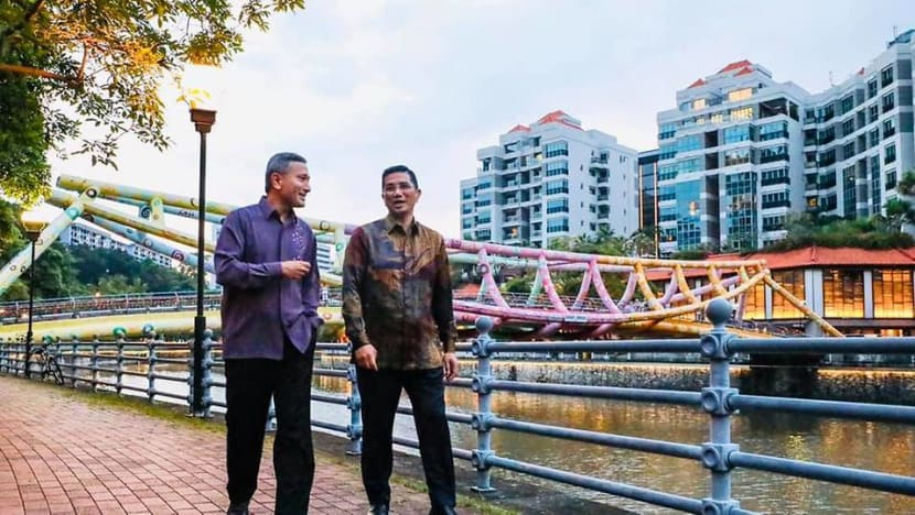 Momentum of Malaysia's relationship with Singapore 'very positive': Economic Minister Azmin Ali