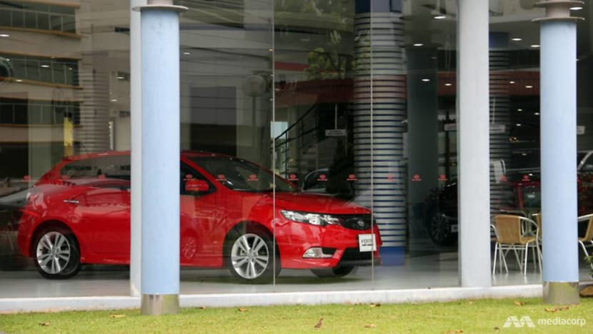 Singapore's retail sales fall again in August, but at slower pace amid demand for cars