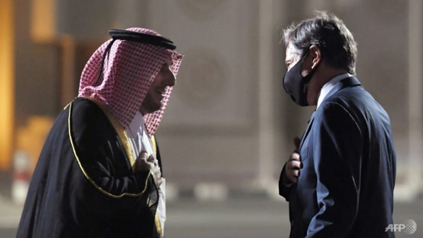 Blinken in Doha for Afghan crisis talks with Qatar
