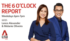 The 6 O'clock Report with Lance Alexander and Melanie Oliveiro