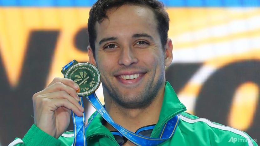 Swimming: 'Anxious' Le Clos beats out Dressel to win world gold