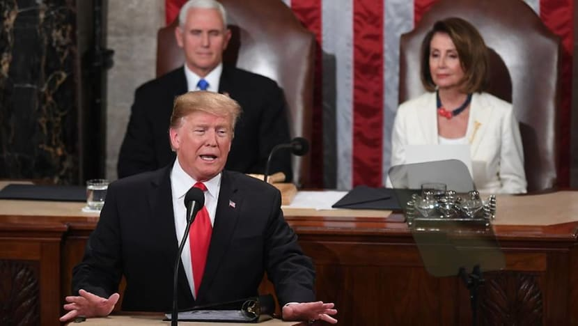 State of the Union: US President Donald Trump urges unity, promises to build wall