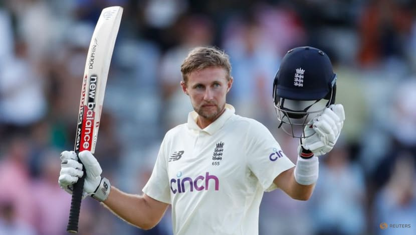 Cricket-Red-hot Root helps England nose ahead at Lord's