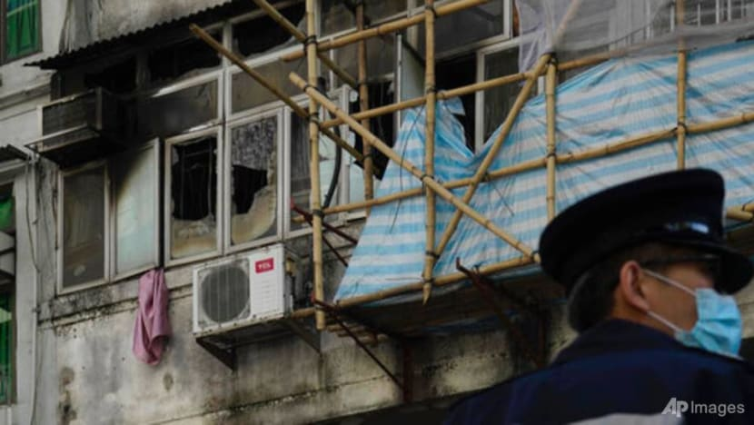 Fire in Hong Kong apartment building kills 7, injures 11