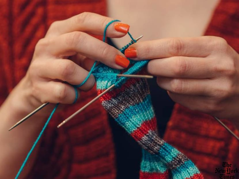 Knitting the world together: Why this old-fashioned hobby is 'cool' again