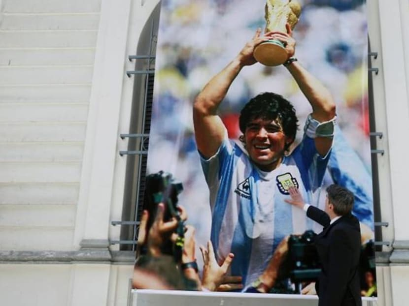 """Maradona's """"Hand Of God"""" shirt could be yours - for US$2 million"""