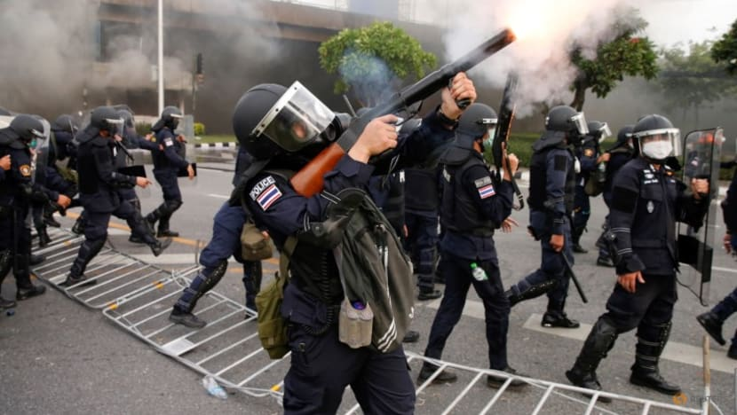 Thai police say use of force necessary as protesters plan new rally