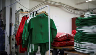 High demand for 'Squid Game' tracksuits cheers S Korea's struggling garment sector