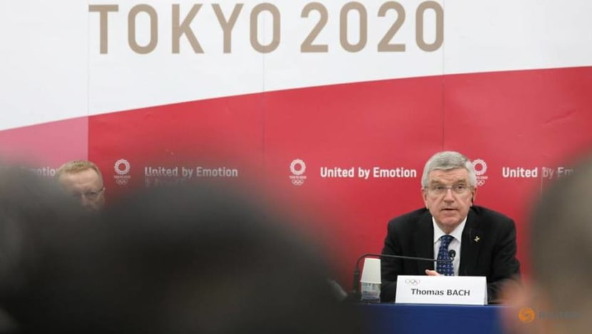 'Everybody determined' to get Tokyo Games going: IOC chief