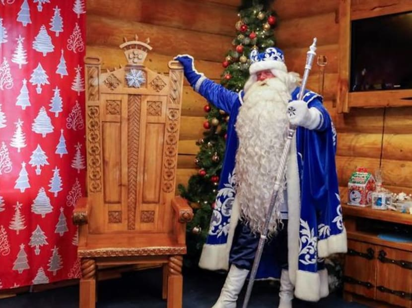 Christmas wishes from Santas around the world