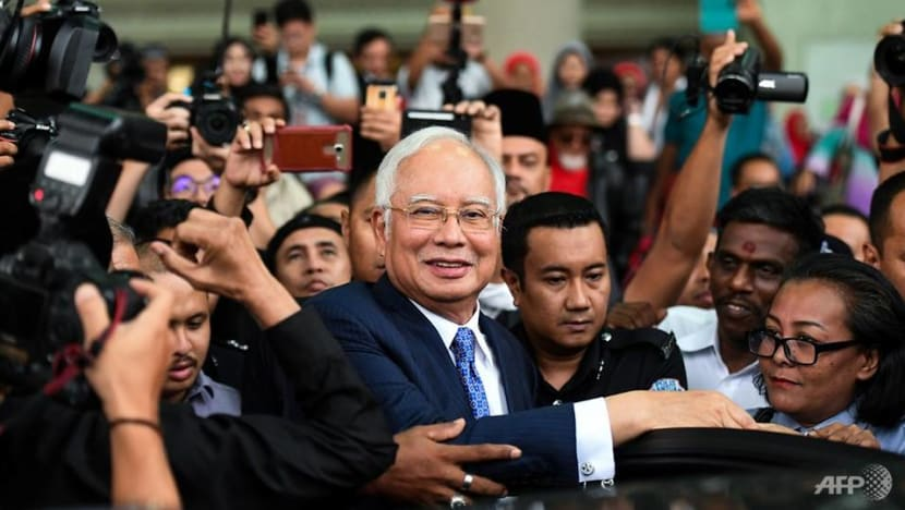 Malaysia's former PM Najib pleads not guilty as corruption trial starts