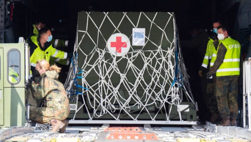 Germany airlifts oxygen equipment to India as COVID-19 cases surge