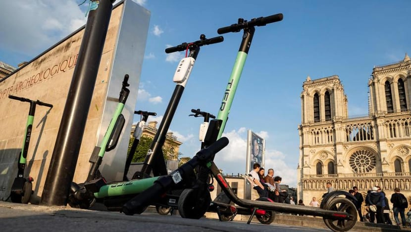 Paris, Berlin draw up tough rules for e-scooters