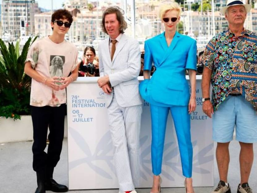 Wes Anderson brings stars together at Cannes for 'The French Dispatch'